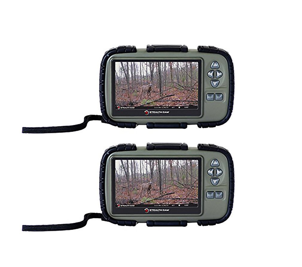 Stealth Cam SD Card Reader and Viewer with 4.3'' LCD Screen BUNDLED 2PACK (2 PACK) by Stealth Cam