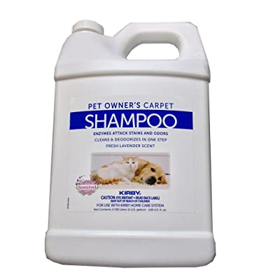 1 Gallon Genuine Kirby Shampoo (Pet Owners ). Use with all model Kirby Vacuum Cleaner Shampooer Systems.: Home & Kitchen