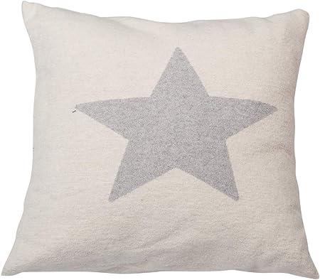 David Fussenegger Silvretta Funda de cojín Estrella, algodón ...