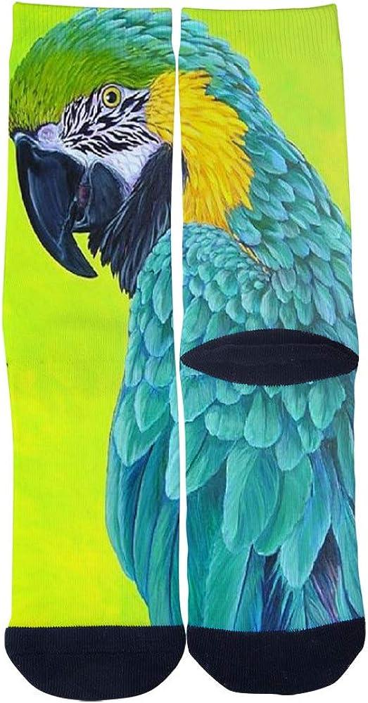Beautiful Awesome Birds of Paradise PRINT Socks Mens Womens Casual Socks Custom Creative Crew Socks