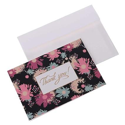 Amazon Com Bronzing Letter Greeting Card Beautiful Flower