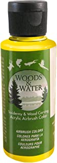 product image for Badger Air-Brush Co. 4-Ounce Woods and Water Airbrush Ready Water Based Acrylic Paint, Yellow