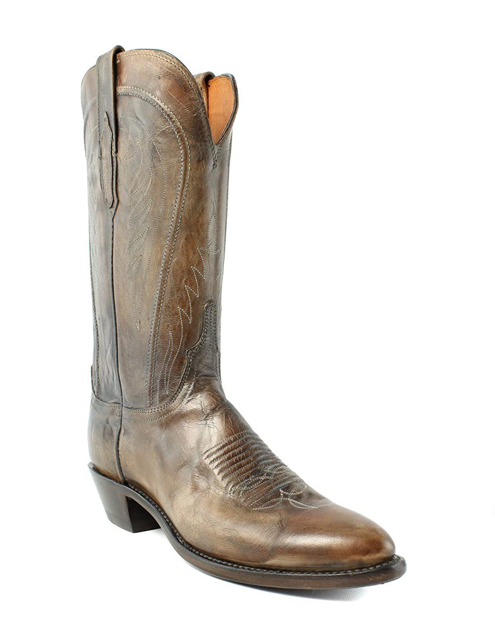 3a93ee72094 Amazon.com | Lucchese N4770.R4 Womens Antique Pearl Bone Distrsd ...