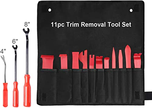 Auto Trim Removal Tool Kit 18 PCs Car Interior Upholstery Pry Tool Set