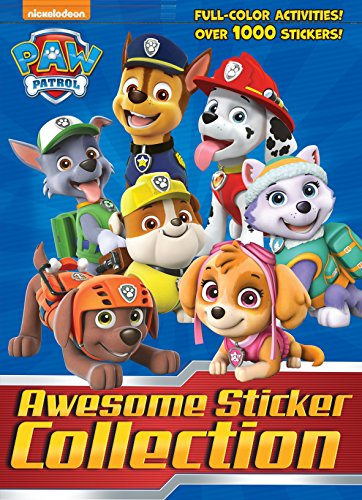 - PAW Patrol Awesome Sticker Collection (PAW Patrol)