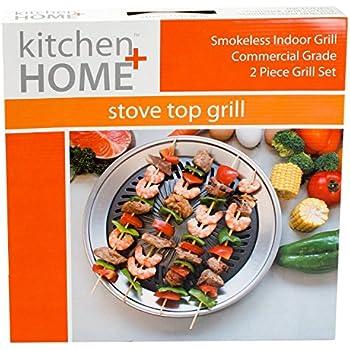 Amazon.com: Grill It®, The Original Stove Top Grill, Smokeless ...