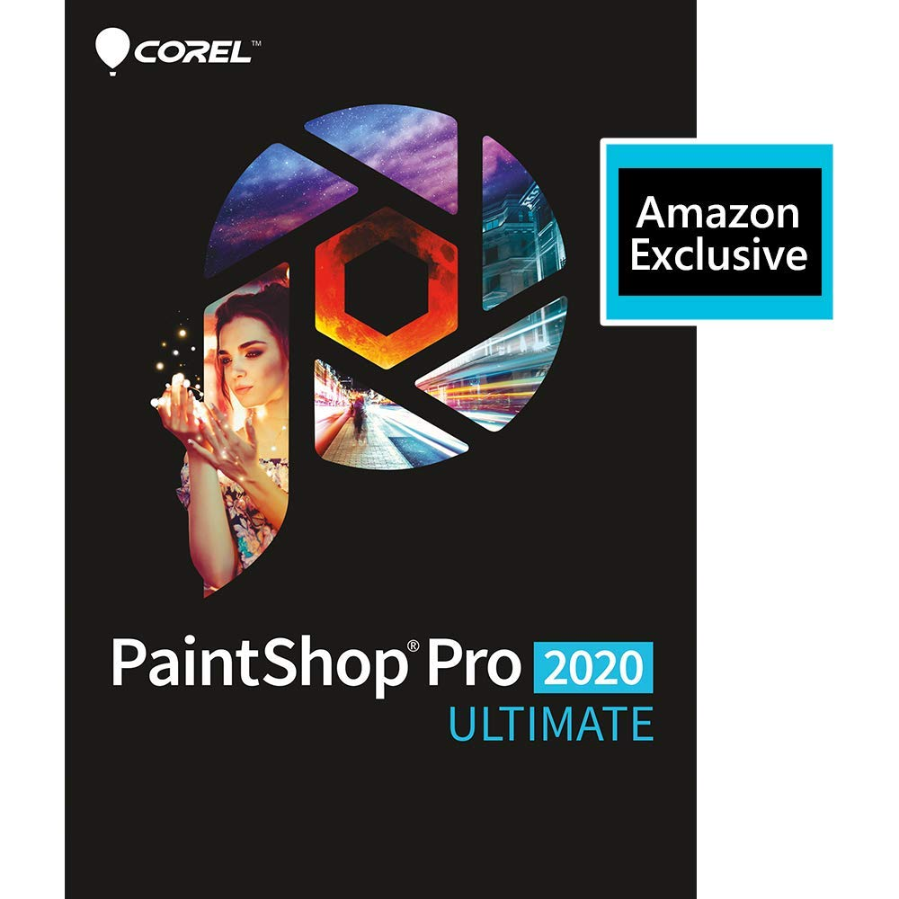 PaintShop Pro 2020 Ultimate - Photo Editing & Graphic Design Software [PC Download] by Corel