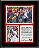 """Mike Evans Tampa Bay Buccaneers Became The Youngest Player in NFL History to Record a 200-Yard Receiving Game in the Bucs 27-7 Win Over the Washington Redskins 10"""" x 13"""" Sublimated Plaque - Fanatics Authentic Certified"""
