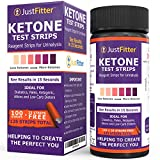 Ketone Test Strips. Testing Levels of Ketones Suitable for Diabetics, Low Carb, & Fat Burning Dieters. (100 + 25) Get on Track with Ketogenic, Paleo, Diabetic, or Atkins Diet for Weight Loss & Ketosis