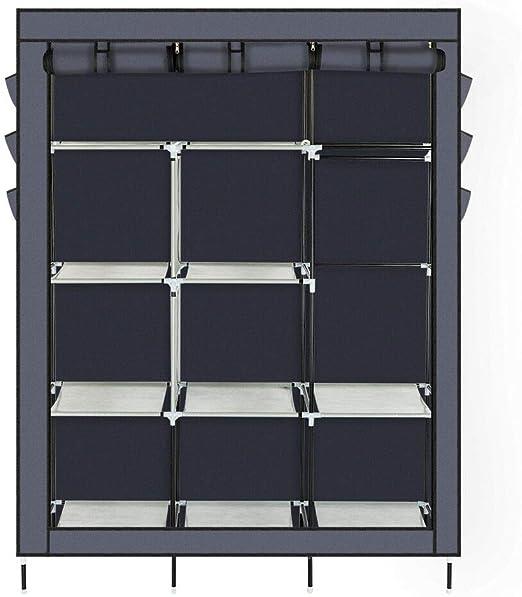 Amazon Com Homiz Heavy Duty Portable Closet Storage Organizer