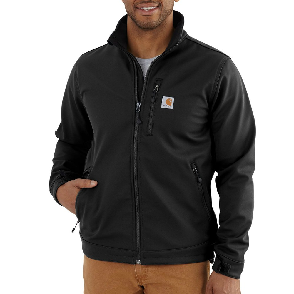 Carhartt Men's Big & Tall Crowley Jacket, Black, 3X-Large by Carhartt