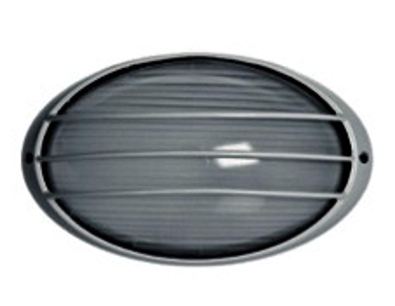 Plafoniere Da Esterno Ovali : V tac plafoniera led w ovale bianca luce fredda per esterno vt