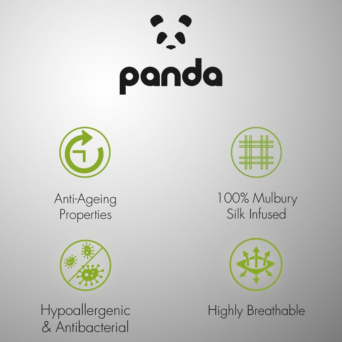 Panda Bamboo Eye Mask Urban Grey