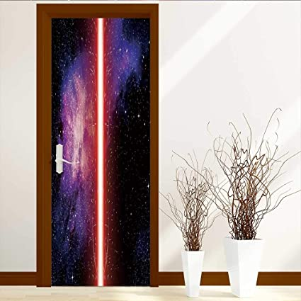 amazon com static cling glass film galaxy famous movie prop