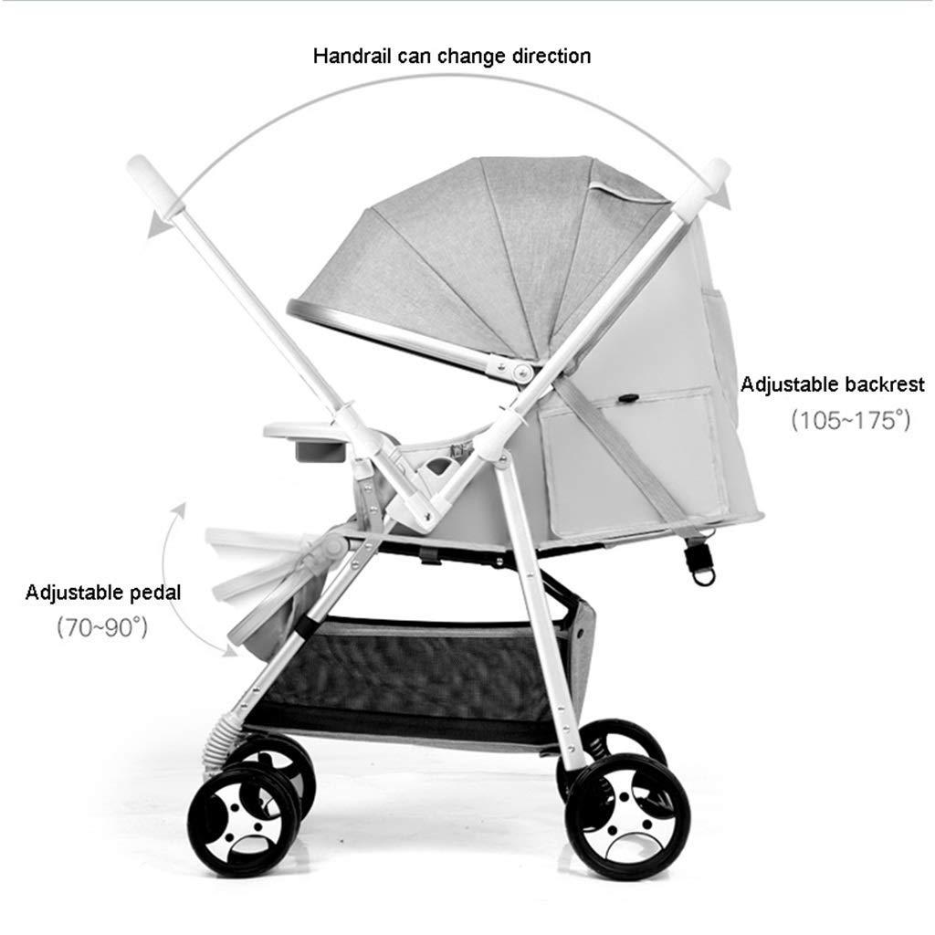 Cochecito de bebé de acero al carbono para niños pequeños ...