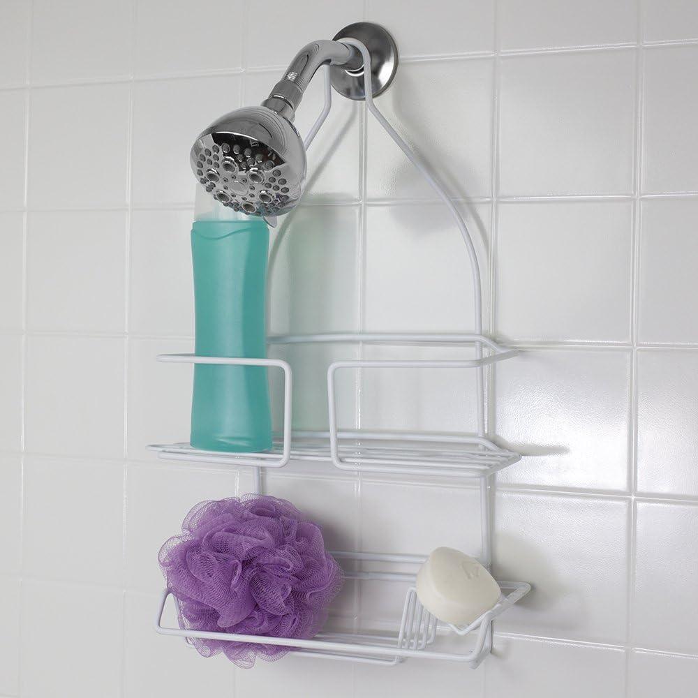 Home Basics Shower Caddy Chrome