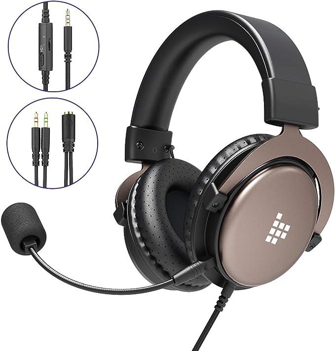 Tronsmart SONO Auriculares Gaming PS4 Estéreo con Micrófono ...
