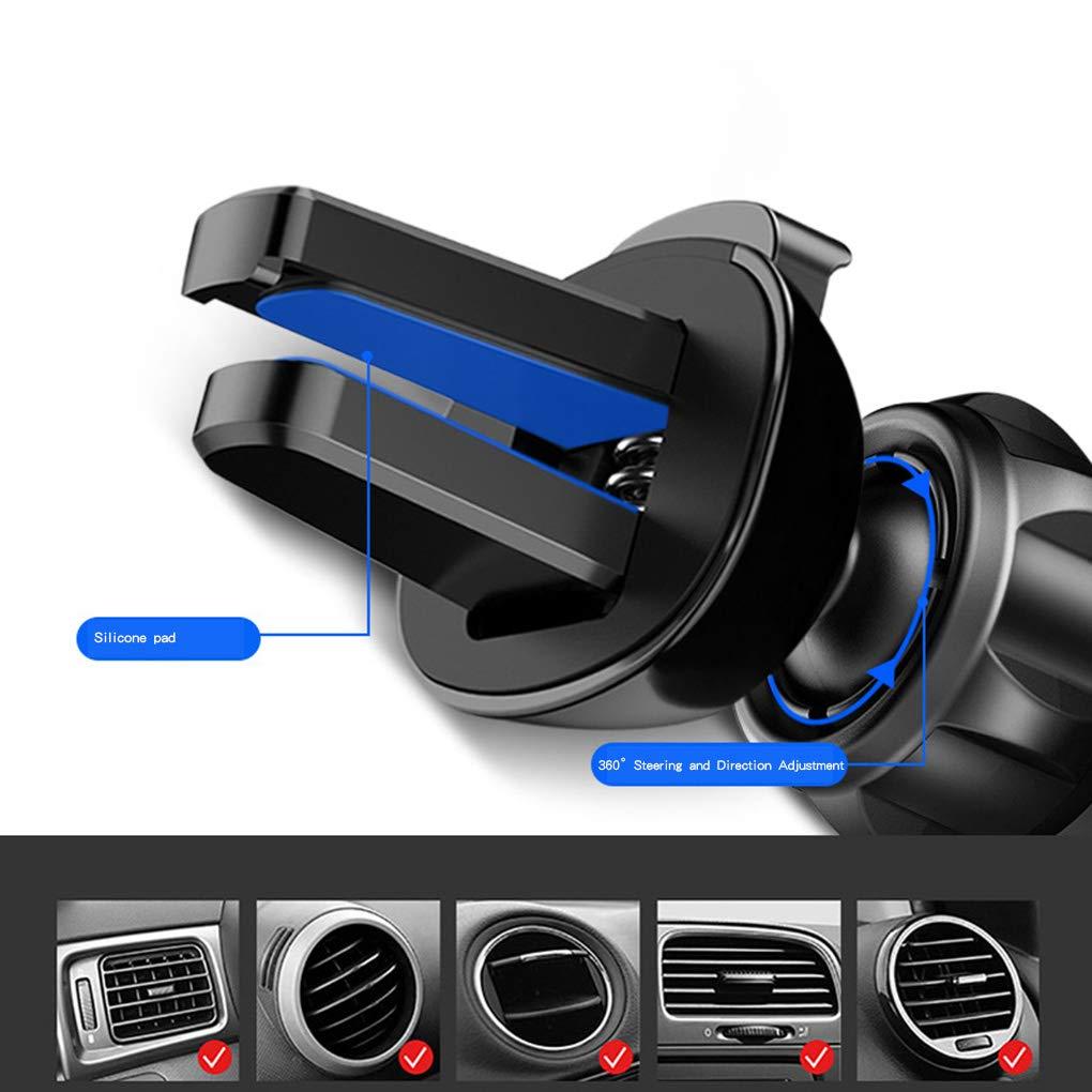 Zerama Gravity Car Phone Holder Car Air Vent Mount Bracket Mobile Phone Stand Universal Auto Smartphone Support