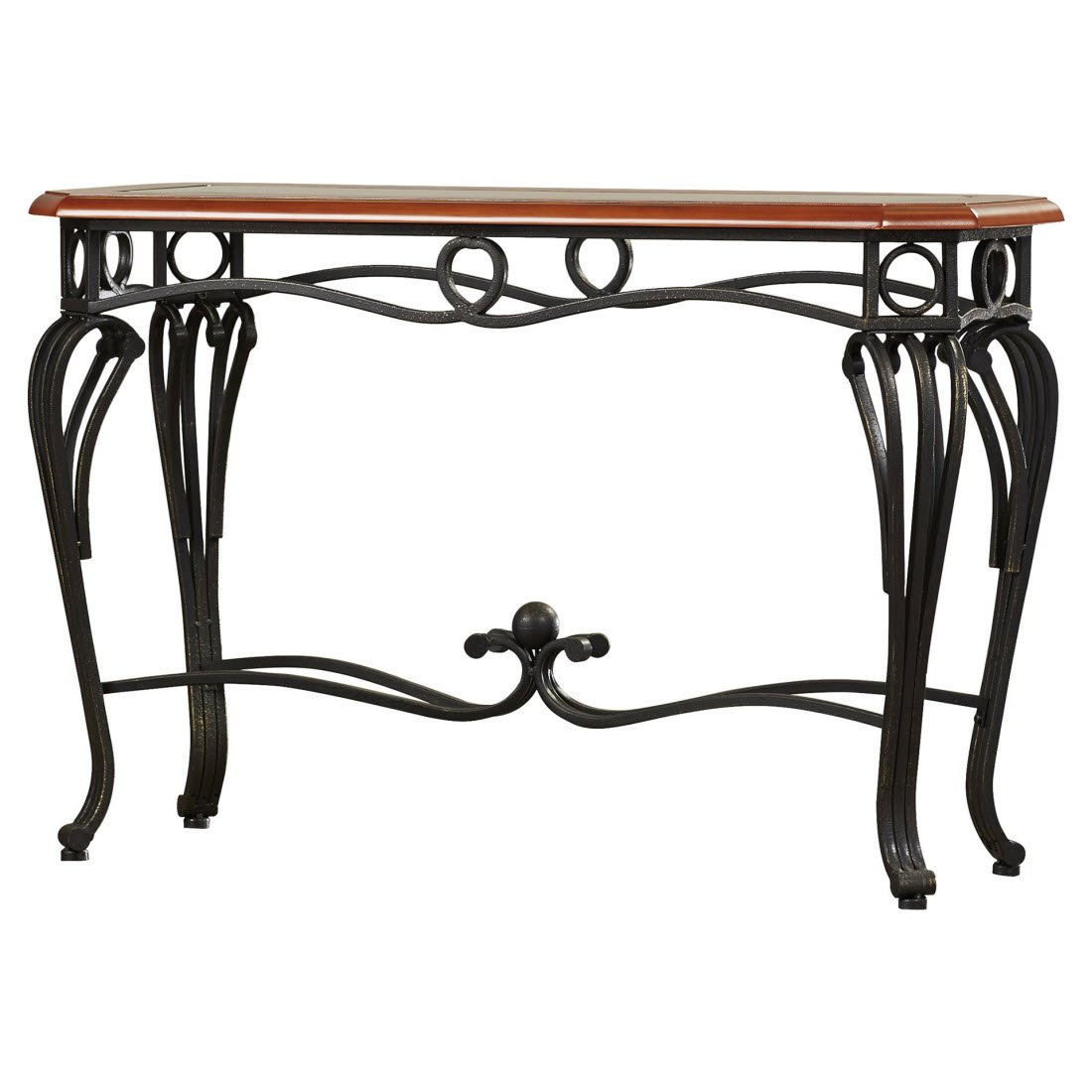 Wonderful Amazon.com: Broughton Console Table   Perfect Piece Of Furniture To Complement  Your Living Room   Made Out Of Metal As Its Base Material, While The Top ... Pictures
