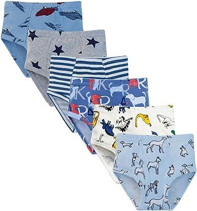 Dinosaurs Jurassic World Underwear Cotton 7 Briefs Toddler Boys 2T 3T Blue Green