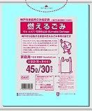 日本サニパック 神戸市 可燃 とって付き 45L 青半透明 30枚