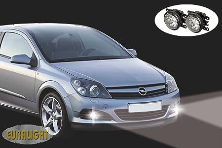 für Fahrzeuge mit vorhandenen NSW. ECE & RL Prüfzeichen 2006-2013 TÜV Eintragungsfrei Fahrzeugspezifisches LED-Tagfahrlicht-Set mit LED Nebelscheinwerfer inkl
