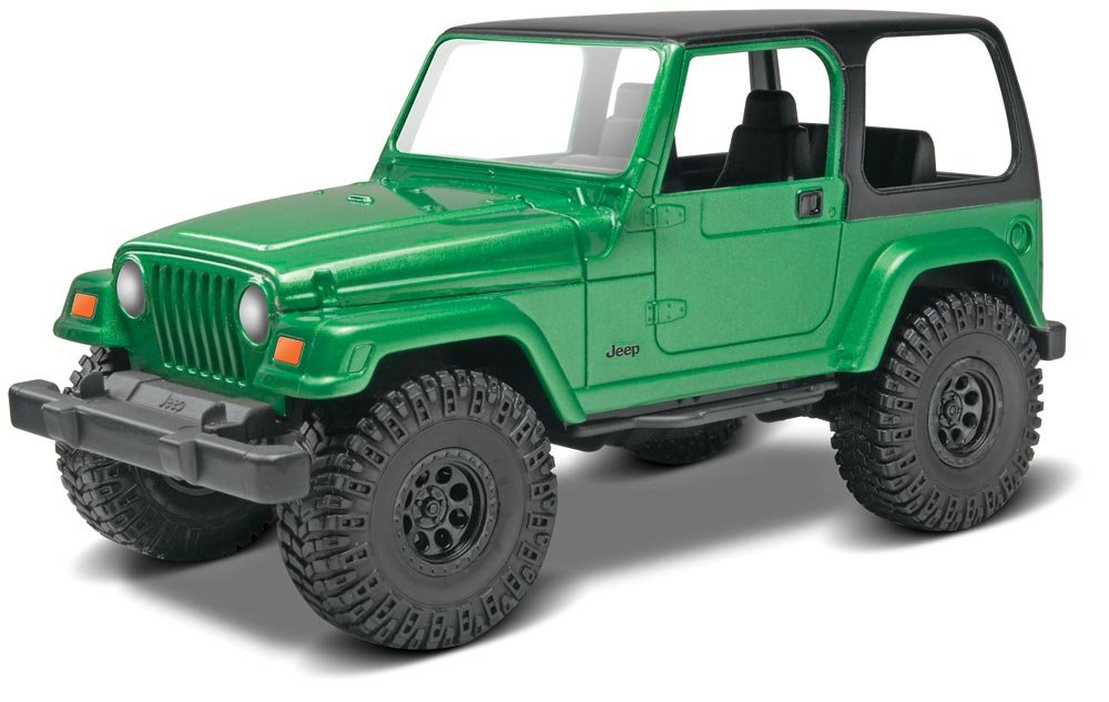 Amazon.com: Revell Monogram Snape 1:25 - Jeep Wrangler Rubicon ...