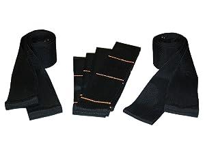 Teamstrap Box Moving and Lifting Straps Black