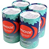 Snoooze Natural and Herbal Supplement Sleep Drink, Strong, 4.6 FL OZ Pack of 4 Cans