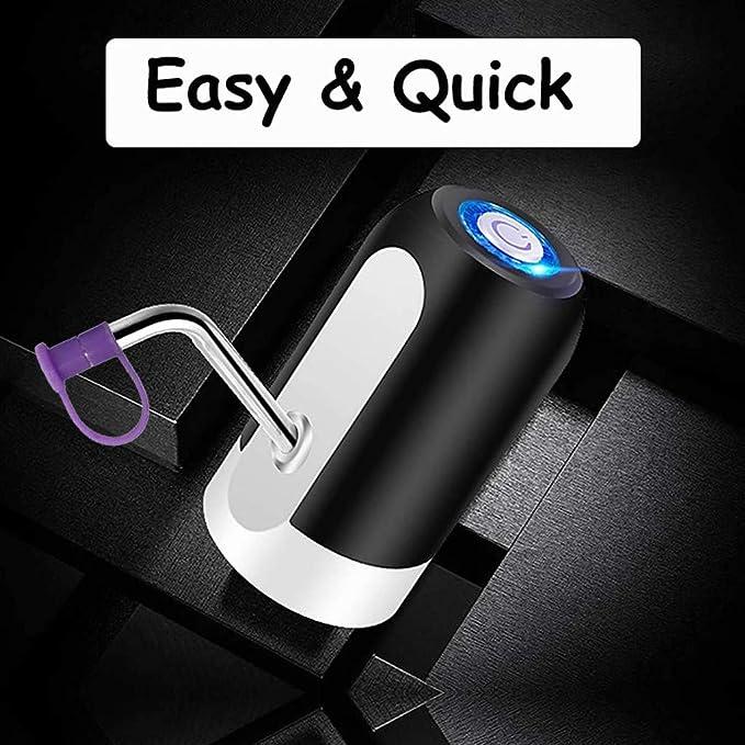 Elevin(TM) - Cubo de Bombeo eléctrico con Carga USB y purificador de Agua automático: Amazon.es: Hogar
