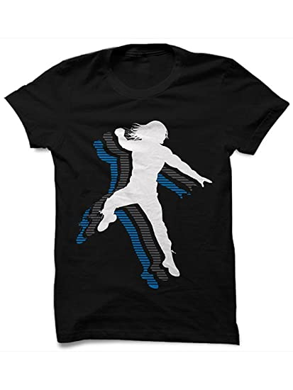 c2f667af7 Step Shoes Men's WWE Cotton Round Neck Black Ruber Print T-Shirt (Small)