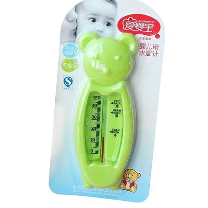 Befaith Termómetro de baño para recién nacido Pequeño baño de medición de temperatura de agua de oso (Enviar al azar)