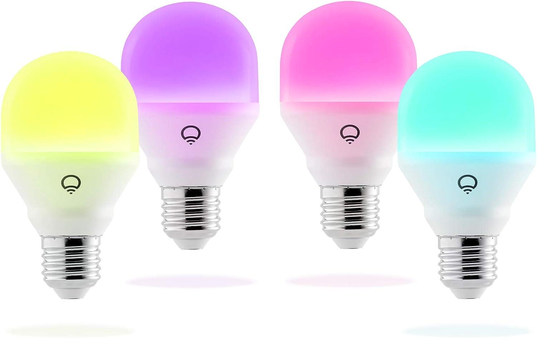LIFX Mini (E27) Ampoule smart LED connectable Wi-Fi, ajustable, multicolore, ajustable, pas...