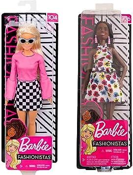 Amazon.es: Barbie Fashionista 2-Pack Best Friends 104 106: Juguetes y juegos