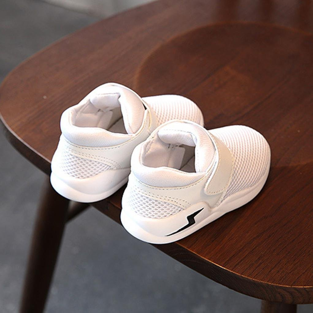 FORESTIME Warm children Baby Boy Girl Rubber Casual Breathable Gridding Run Shoes Sneaker