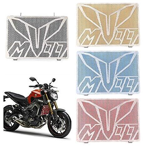 XuBa Grille de Protection en Acier Inoxydable pour Yamaha MT-09 FZ09