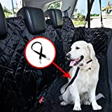 WH-SHOP Pet Car Seat Cover Protects Your Car Seats from Scratches, Shedding, Dirt & Wetness - Waterproof, Slip-Proof, Scratch-Proof, Durable, Washable, Installs Securely as Hammock in Car, Truck, SUV