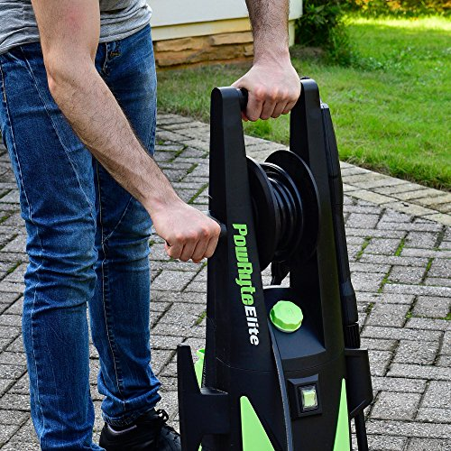 Powryte Elite 2200 Psi 1 8 Gpm Electric Pressure Washer