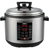 GoWISE USA Electric Pressure Cooker (14-QT, Silver)