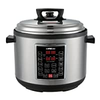GoWISE USA GW22637 4th-Generation Electric Pressure Cooker with rice scooper, and...