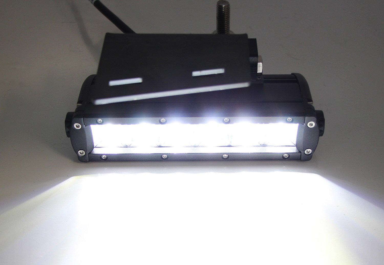 Ijdmtoy Led Light Bar Fog Lamps Kit For 99 02 Chevrolet Winjetr Wiring 01 1 Plug Silverado 1500 2500 00 3500 2006 Suburban Tahoe Includes 2 30w Cree