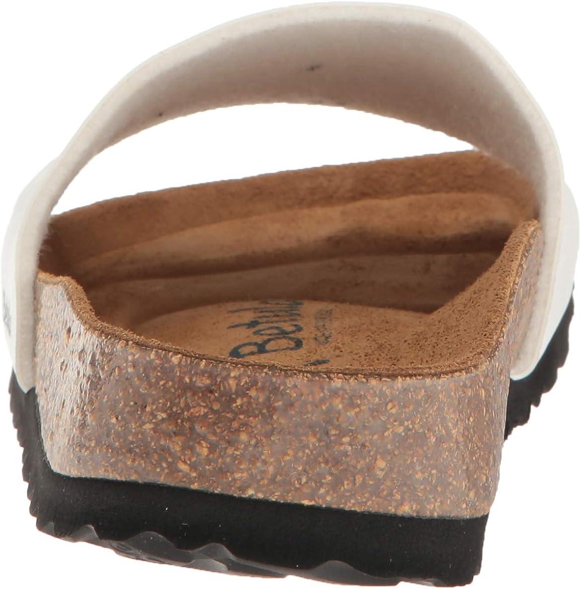 Birkenstock Betula Licensed by Women's Reggae Birko Flor Basic White Sandal