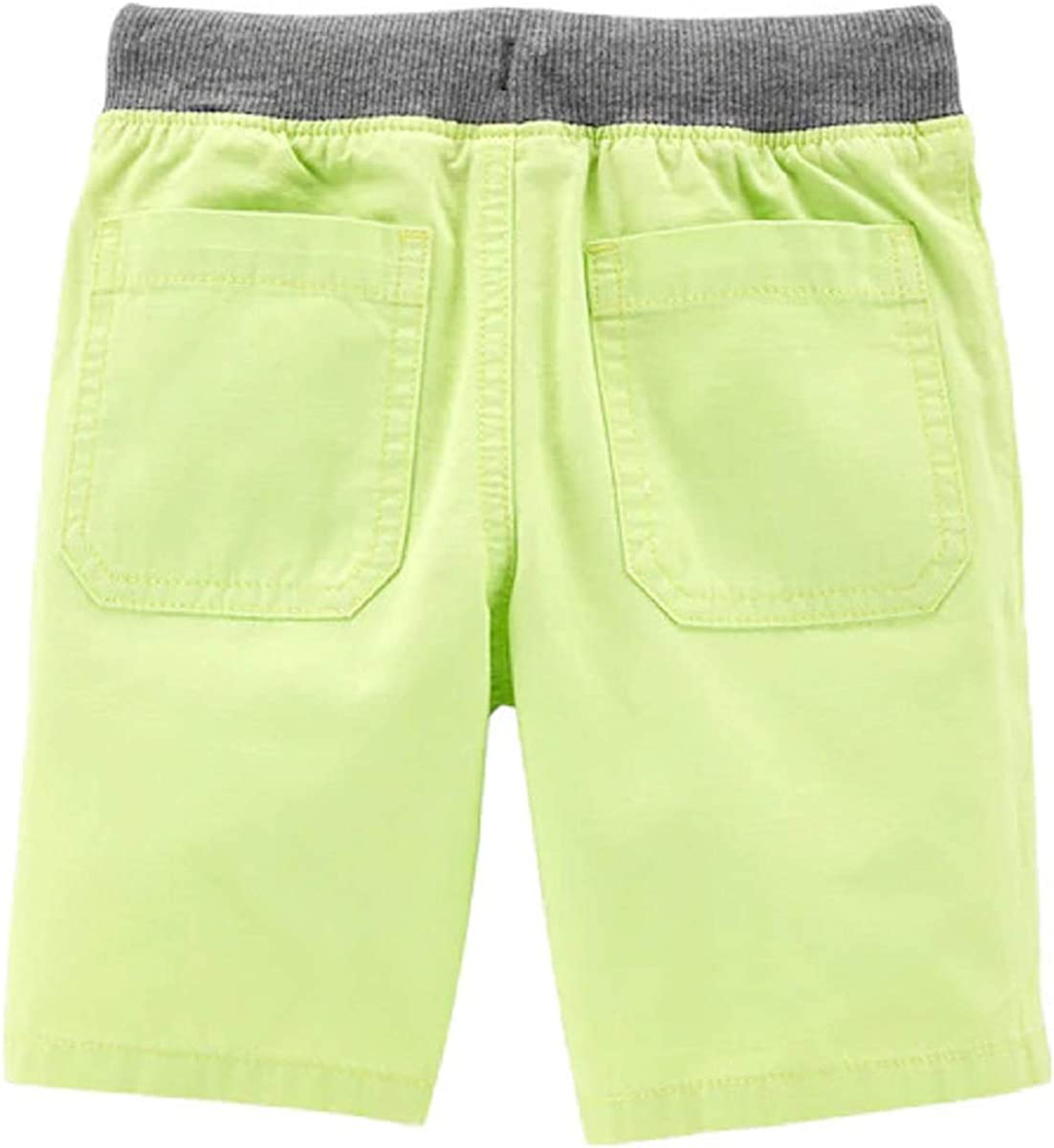 Carters Baby Boys Yellow Cotton Dock Shorts 24m