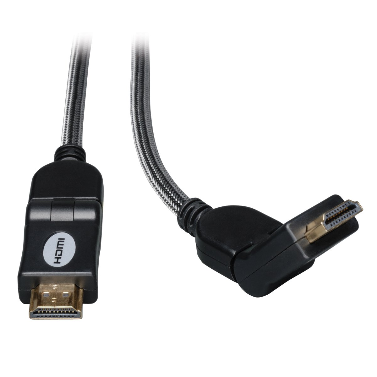 Amazon.com: Tripp Lite High-Speed HDMI Cable w/ Gripping Connectors 4K M/M Black 16ft 16 (P568-016-BK-GRP): Electronics