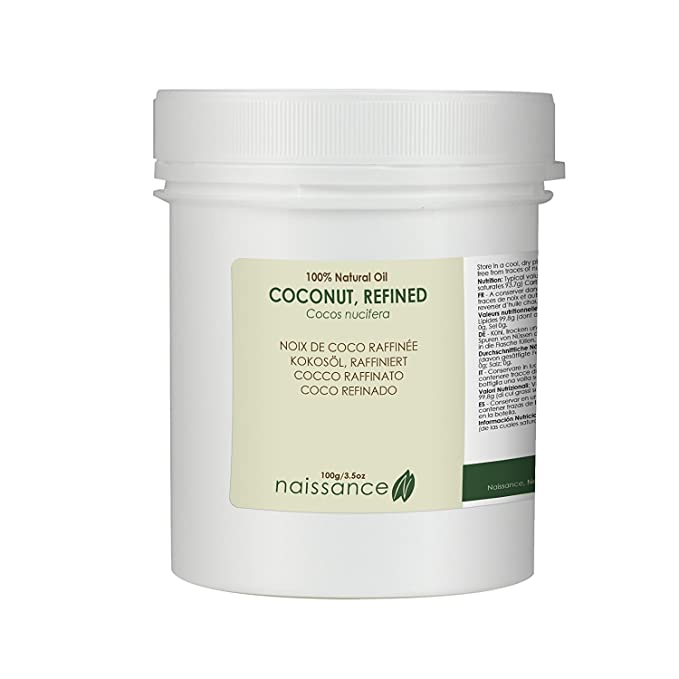 79 opinioni per Naissance Olio di Cocco Raffinato- Olio Vegetale Puro al 100%- 100g