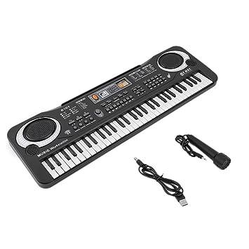 Yililay 61 Teclas de música Digital de Juguete de Regalo teclados electrónicos Consejo Piano eléctrico, Teclado: Amazon.es: Juguetes y juegos