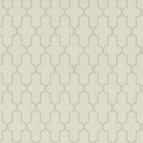 Beige Geometric Wallpaper - York Wallcoverings CL1832 Color Library II Frame Geometric Wallpaper, Beiges