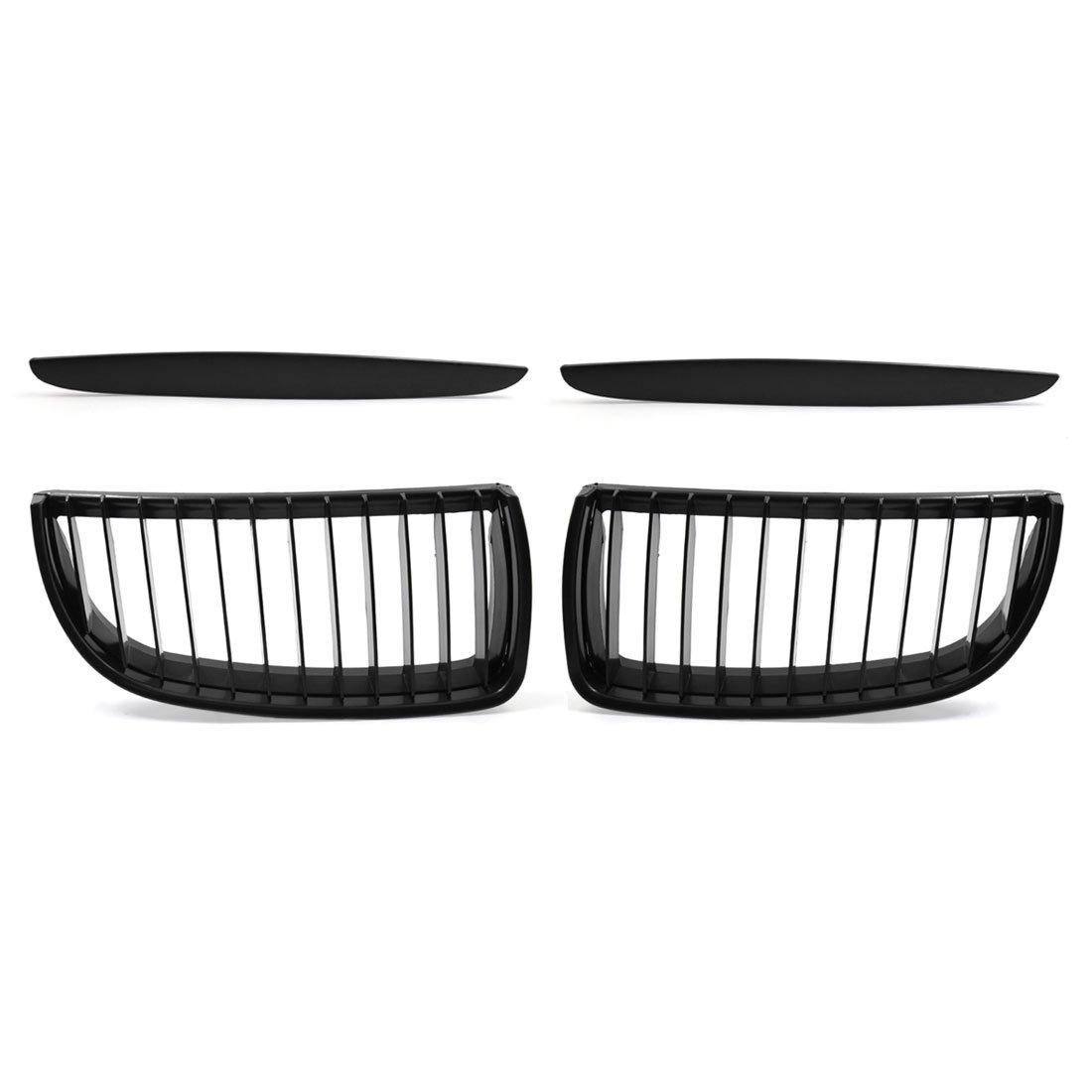 uxcell Car Matte Black Front Hood Kidney Grille Grill fit BMW E90 325i 328i 328xi 335i 335xi 330i 330xi a17072900ux0115