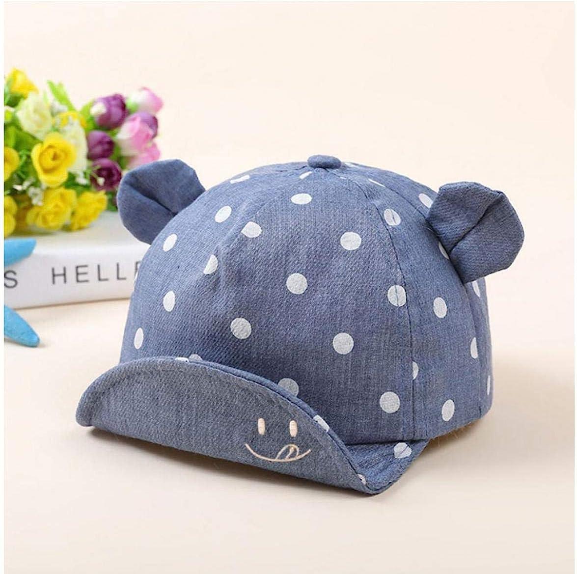 Culer Baby-Punkt-Baseballm/ütze Baby-Jungen-M/ädchen-Krempe Sonnenhut Kleinkind Trucker Baumwolle Masken-Hut