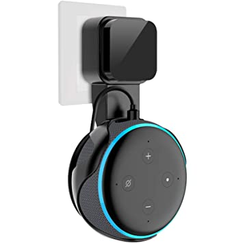 Back To Search Resultsconsumer Electronics Speaker Accessories Outlet Wall Mount Holder For Echo Dot 3 Space-saving Stand For Smart Home Speakers With Cord Arrangement Portable High Quality Cheap Sales